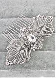 In Stock Charming Alloy Wedding Hair Jewelry With Rhinestones