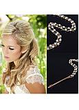 In Stock Simple Hair Ornaments With Pearls