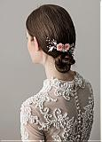 In Stock Fabulous Alloy Wedding Hair Ornament With Imitation Pearls