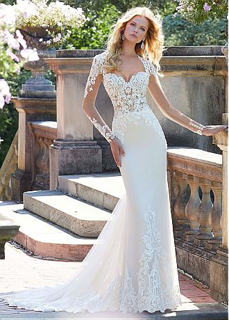 Elegant Tulle Sweetheart Neckline Mermaid Wedding Dresses With Beaded Lace Appliques